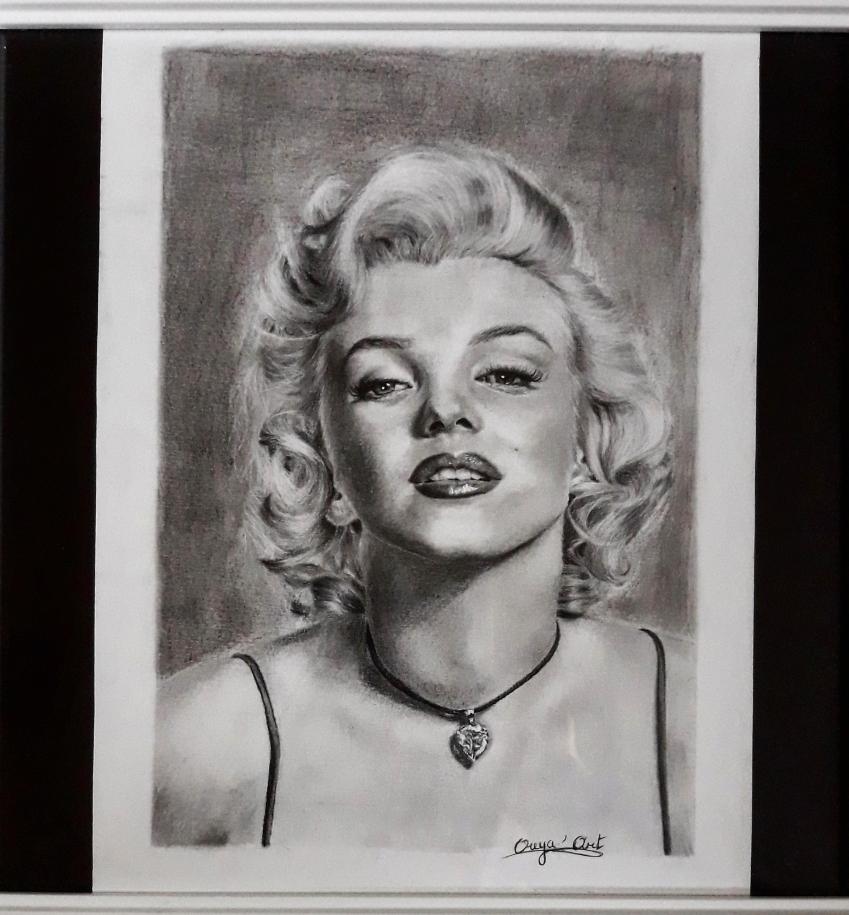 Marilyn Monroe by OuyaArt